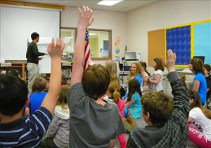 Jason Chin at the Ottauquechee School