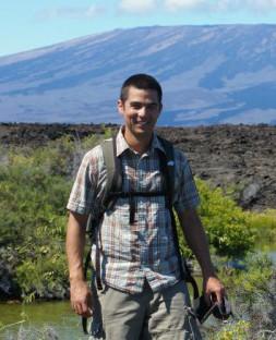 Jason Chin in the Galapagos